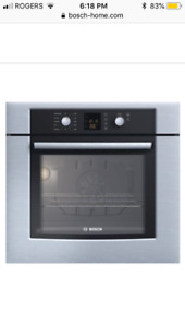 "Brand new, never used, BOSCH 30"" single wall oven for sale!"