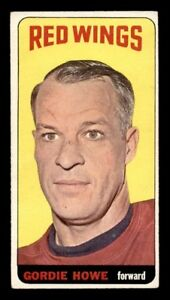 GORDIE HOWE .... 1964-65 Topps TALL BOY .... three (3) available