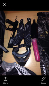 Paintball gear need gone cheap 450 or best offer