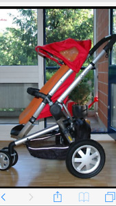 Red Quinny Buzz Xtra Stroller