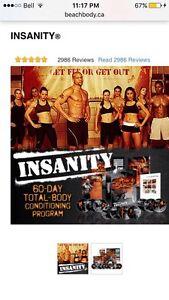 INSANITY BEACH BODY Workout program