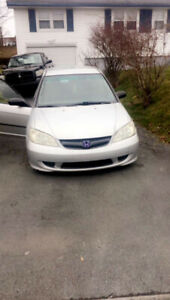 2004 Honda Civic for repair/ parts