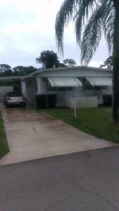 Home for rent in 55+ Community located Port St. Lucie Florida