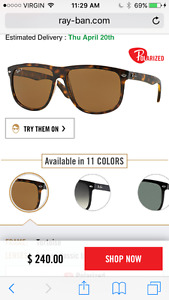 Ray Bans on sale