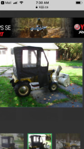 1968 A/C tractor with blower $500Firm