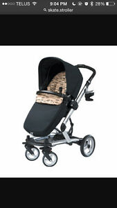 Peg perego car seat and stroller & Quinny freestyleXL stroller