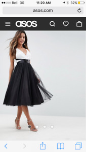 Formal tulle dress size 12