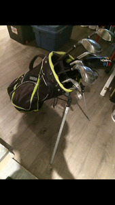 Brand new Men's Golf clubs, with new OGIO bag.
