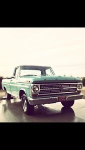 Wanted: 67-72 Ford F100 Parts