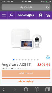 $100 Angelcare Wireless Baby Monitor. Never used.
