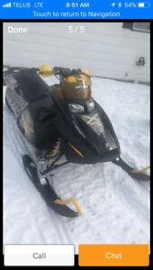 2007 SKIDOO RENEGADE X 1000cc