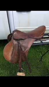 2 English saddles $100 each