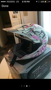 CKX youth girls snow/dirt helmet size LARGE $75