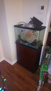Aquarium 25 Litres, with Stand & all accessories.