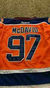 Brand New McDavid and Lucic Jerseys with Tags
