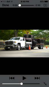 GMC Truck with Manhole Cutter