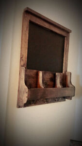 Handcrafted wood decor and furniture London Ontario image 3