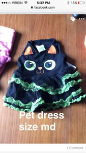 Dog/cat costumes and clothes
