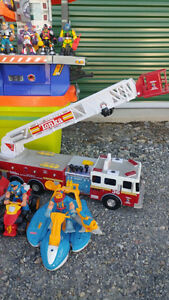 Fisher Price Rescue Heroes Collection & Tonka Fire Truck