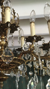 Intricate Crystal Chandelier