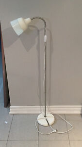 White and Grey Floor Lamp