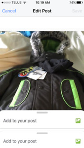 12 Mth Osh Kosh Snowsuit Brand New With Tags