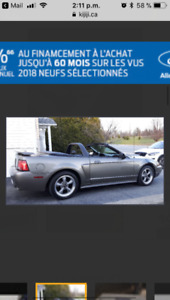 Ford Mustang Gear différentiel Ford Racing Neuf 160$. (Ferme)