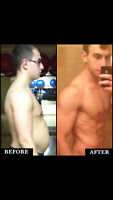 Physique Change by  Certified Personal Trainer