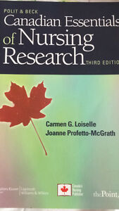 Canadian Essentials of Nursing Research 3rd Edition
