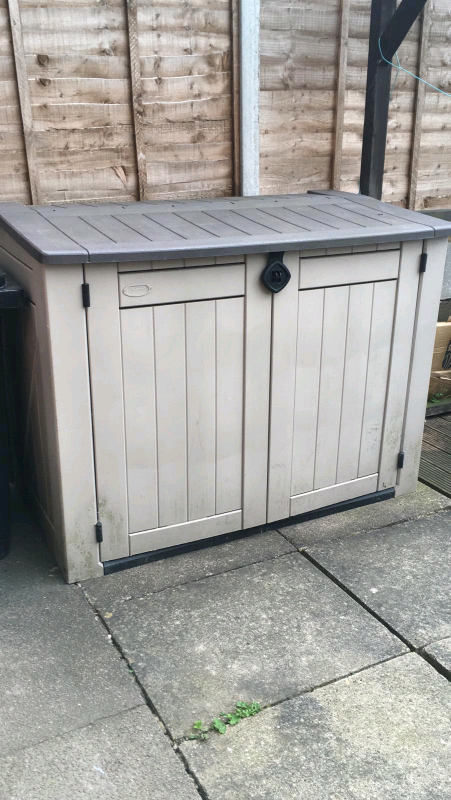 Outdoor Storage Garden Plastic Shed In Hamilton Leicestershire Gumtree