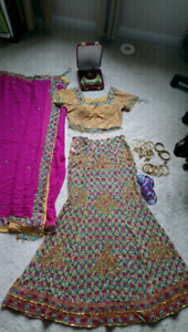 Bridal/special occasion lengha