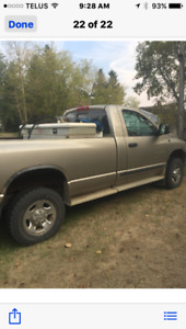 2004 Dodge Power Ram 2500 Slt Pickup Truck
