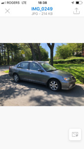 2004 Acura TL Sedan- Low mileage, great clean deal!