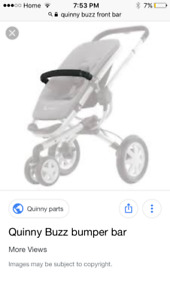 In need of front bar for quinny buzz stroller