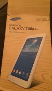 Barely Used Samsung Galaxy Tab 3 For Sale!!