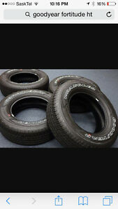 275/65R18 new Goodyear wranglers