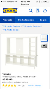 IKEA tv wall unit