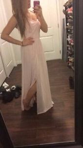 Blush Pink Grad Dress
