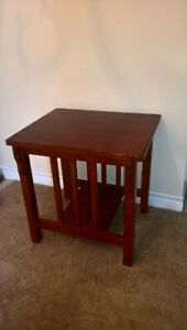 Red Oak End Table for sale