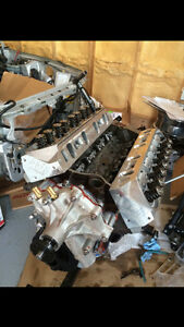 306 long block (302 Engine Sbf/Afr 185 heads)
