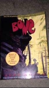 "Jeff Smith ""Bone-The complete cartoon epic in one volume"""