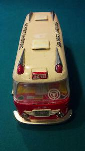 vintage 1960s tin litho bus St. John's Newfoundland image 3