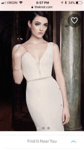 Mikaella style 2016 wedding dress for sale