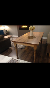 Gorgeous hand crafted Harvest tables for sale