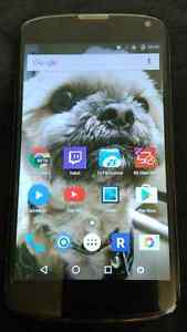 Nexus 4 16GB Unlocked w/ box+cable+charger