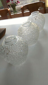 Vintage Antique Glass Lighting Shades