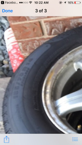 Michelin Tires and Rims 185/70R14