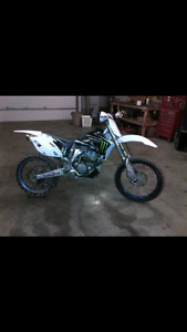 2007 yz250f bored to 290cc
