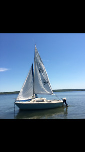 19' Sandpiper Sailboat