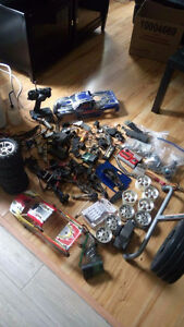 Traxxas huge lot of parts